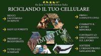 Riciclare un vecchio cellulare per salvare un bambino, un albero o uno scimpanzé